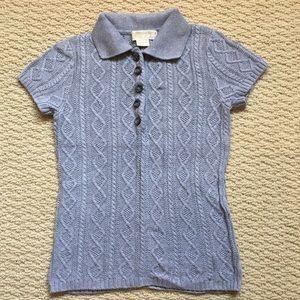 Michael Kors Cable Knit Blouse